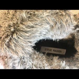 Steve Madden fur lined combat boot size 6.5